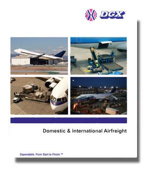DGX - Dependable Global Express Air Freight Shipping Services U.S. Brochure