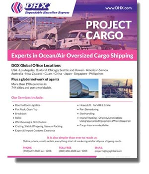 DGX - Dependable Global Express Project Cargo (Oversize) U.S. Brochure